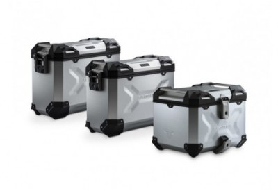 TraX Adventure Set Luggage KTM Models - Silver ADV.04.333.75001/S SW-Motech