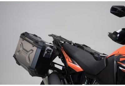 TraX Adventure Side Case Set For KTM Models KFT.04.333.70001/B SW-Motech