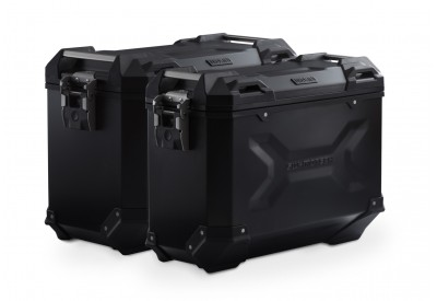 TraX Adventure Side Case Set Kawasaki KLR 650 KFT.08.363.70000/B SW-Motech