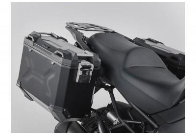 TraX Adventure Side Case Set Kawasaki Versys 1000  2015-2018 KFT.08.722.70000/B SW-Motech
