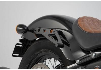 SLH Side Carrier RIGHT Harley Davidson Softail Slim-Street Bob-Standard for LH1 Legend Gear Bags HTA.18.682.10100 SW-Motech
