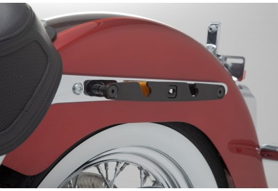 SLH Side Carrier LEFT Harley Davidson Softail Deluxe for Legend Gear Bag LH2 HTA.18.682.10800 SW-Motech