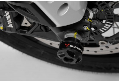Front Axle Sliders Moto Guzzi V85-TT STP.17.176.10000/B SW-Motech