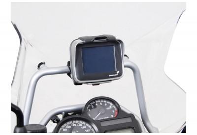 GPS Crossbar Mount BMW R1200GSA '08-'13 GPS.07.637.1000/B SW-Motech