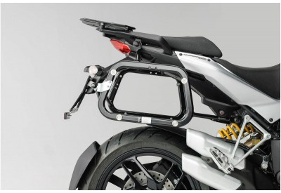 Side Carriers EVO Ducati Multistrada 1200-S 2010-2014 KFT.22.140.20000/B SW-Motech