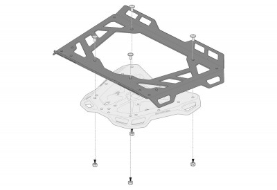 Luggage Extension Rack for Adventure Racks GPT.00.152.35500/B SW-Motech