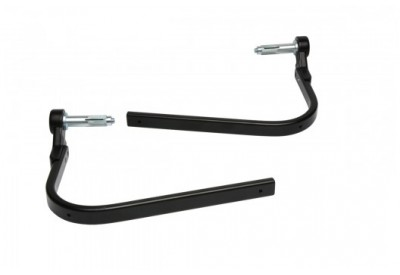 Barkbusters Hand Guards - Single Point Mounting For Hollow Bars STM-005-NP