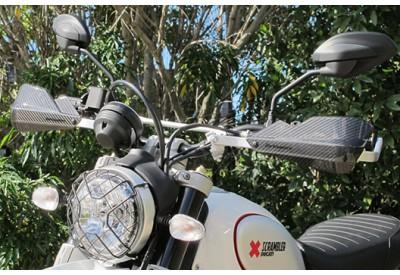 Barkbusters Hand Guards Ducati Scrambler Desert Sled Flat Track Pro and Full Throttle BHG-067