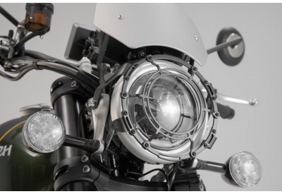 Headlight Guard Triumph Scrambler 1200 XC-XE LPS.11.667.10000/B SW-Motech