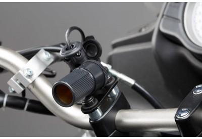 Euro-DIN-Style Plug To Cigarette Socket 20cm EMA.00.107.11600 SW-Motech