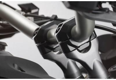 Handlebar Risers for 28mm Diameter Bars, 30mm Height LEH.00.039.24100.30/B SW-Motech