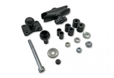 GPS Mount With Ball Clamp  For 12.5-25mm Diameter Head Tubes CPA.00.424.17000/B SW-Motech