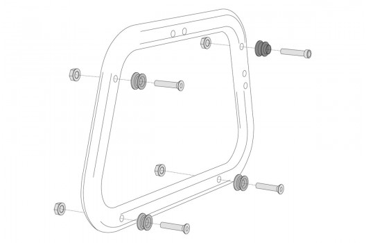 Adapter Kit AERO for EVO Side Carriers
