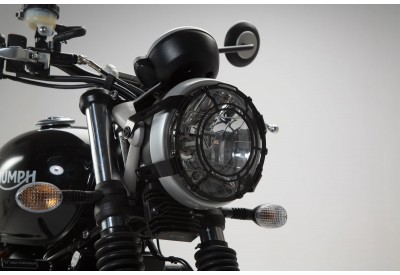 Headlight Guard Triumph Street Twin-Scrambler Models LPS.11.667.10000/B SW-Motech