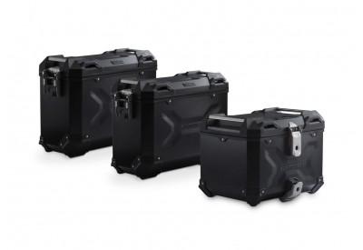 Adventure Set Luggage 37-45L Moto Guzzi V85-TT ADV.17.925.75000/B SW-Motech