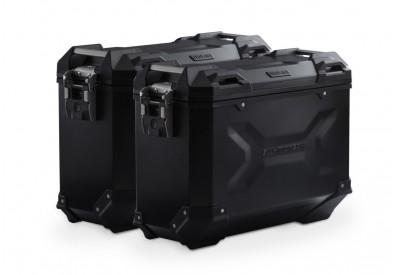 TraX Adventure Side Case Set 37-37L Suzuki DL1000 V-Strom KFT.05.158.70000/B SW-Motech