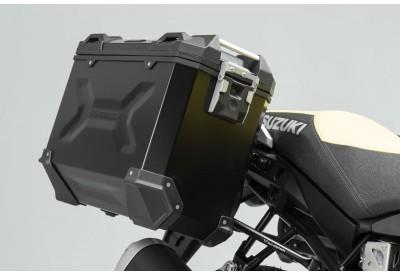 TraX Adventure Side Case Set 37-37L Suzuki V-Strom 1000-XT 2014- KFT.05.440.70001/B SW-Motech