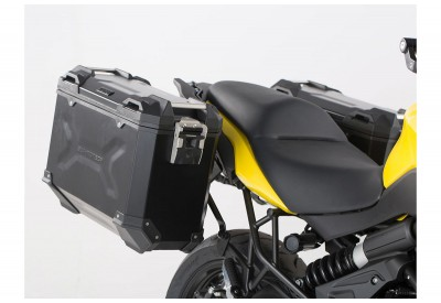 TraX Adventure Side Case Set 37-37L Kawasaki Versys 650 2015- KFT.08.518.70000/B SW-Motech