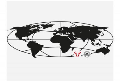 TraX ION Globe  Sticker For...