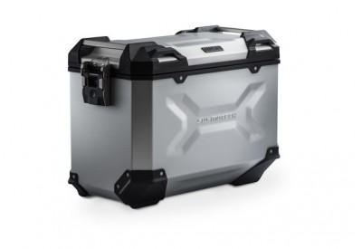 TraX Adventure 45L Alu Case Left Silver ALK.00.733.10000L/S by SW-Motech