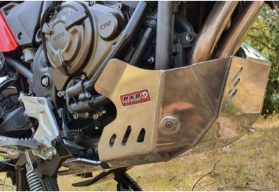 Engine Guard / Skid Plate Yamaha Tenere 700 - Silver Y43-1Silver B and B Offroad