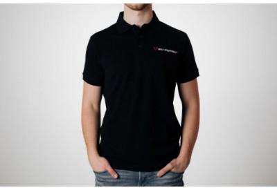Polo-Shirt Black By SW-Motech WER.BKL.007.L.10002