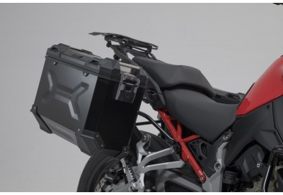 TraX Adventure Side Case Set 37-37L Ducati Multistrada V4 KFT.22.822.70000/B SW-Motech