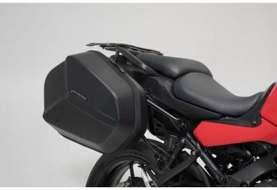 AERO ABS Side Case Set 25-25L Yamaha Tracer 9 KFT.06.921.60100/B SW-Motech