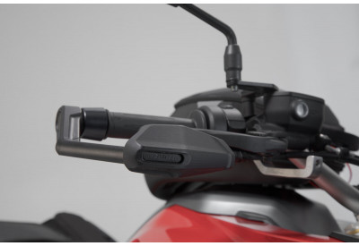 Brake and Clutch Lever Guards BMW R1250R and  F900 R-XR With Wind Protection LVG.07.913.11000/B SW-Motech