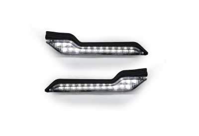 Barkbusters White Running Lights B-LED-002-00