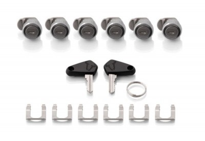 TraX Lock Set. 6 Locks 2 Keys ALK.00.165.16302 SW-Motech
