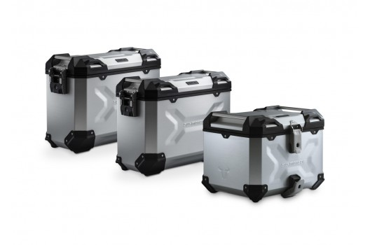 TraX Adventure Set Luggage BMW F650-700-800GS - Silver ADV.07.559.75002/S SW-Motech