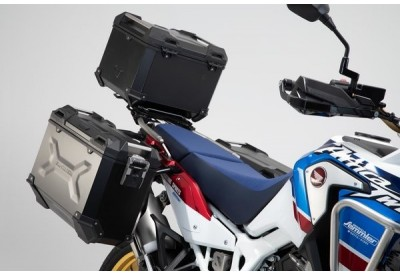 Adventure Set Luggage Honda Africa Twin Adventure Sports Black ADV.01.890.75100/B SW-Motech