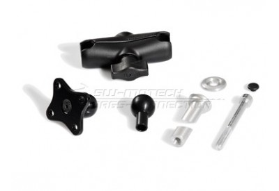 Ball Clamp Kit  for 12.5-13.5 mm Diameter Steering Head Tubes CPA.00.424.15300/B SW-Motech