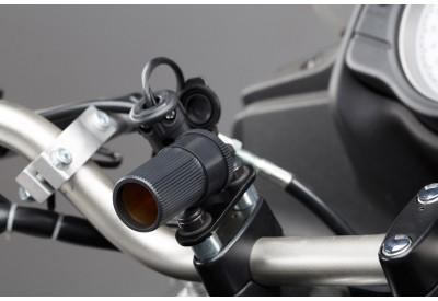 Euro-DIN-Style Plug To Cigarette Socket 100cm EMA.00.107.11700 SW-Motech
