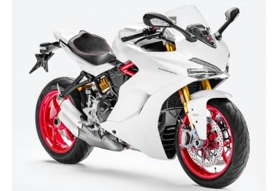 Radiator / Oil Cooler Guard Ducati SuperSport-S 2017- RG13115-BLK RadGuard