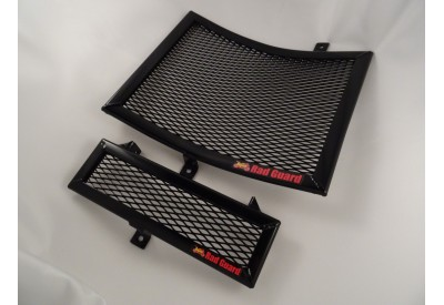 Radiator and Oil Cooler Guard Triumph Speed Triple 1050 Models RG23038-BLK RadGuard