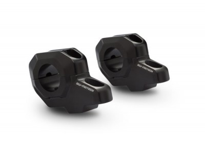 Handlebar Riser-Bar Backs for 28mm Bars, 30mm Height LEH.00.039.23100/B SW-Motech