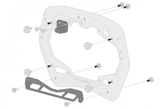 Mounting Kit Shad for PRO Side Carriers KFT.00.152.35700 SW-Motech
