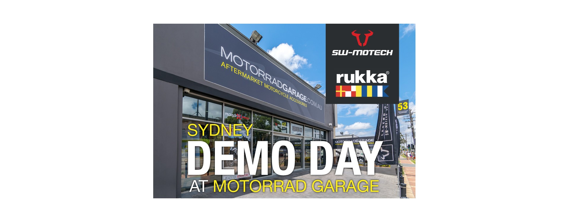Demo Day at Motorrad Garage Sydney