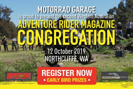 Adventure Rider Magazine WA Congregation 2019 - Registrations are now open