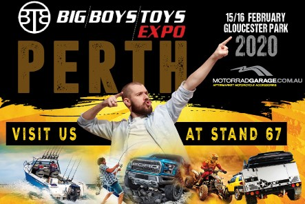 Big Boys Toys Expo Perth 2020