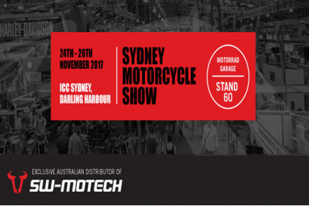 2017 Sydney Motorcycle Show - Stand 60