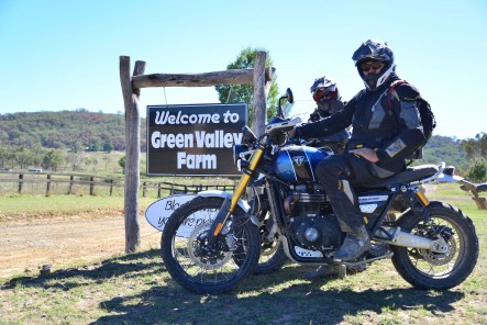 Motorrad Garage Team at Adventure Rider Magazine Congregation NSW